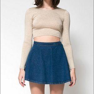 American Apparel - Denim Circle Skirt